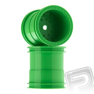2.2 Monster Truck disky 63mm, zelené (2 ks.)