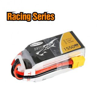 TATTU 1550mAh 14.8V 75C 4S1P Lipo Battery Pack--Specially Made for Victory with Limited Ed