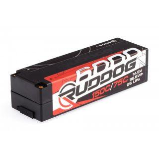 RUDDOG Racing 6000mAh 150C/75C 14.8V LCG 1/8 Pack