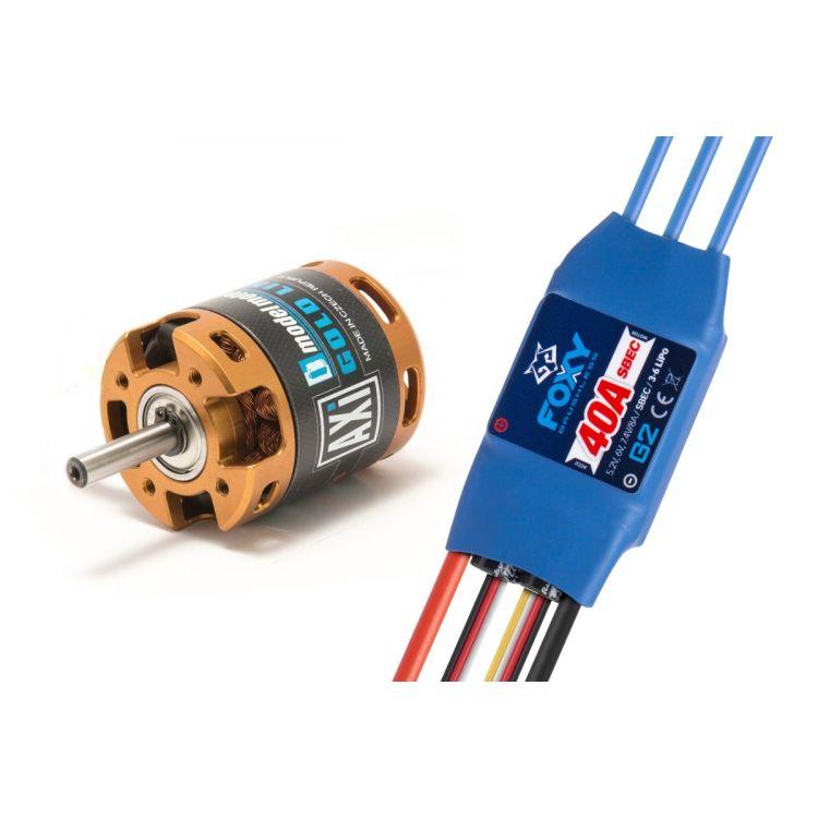 Combo set AXI 2820/12 V2 + FOXY G2 40A regulátor