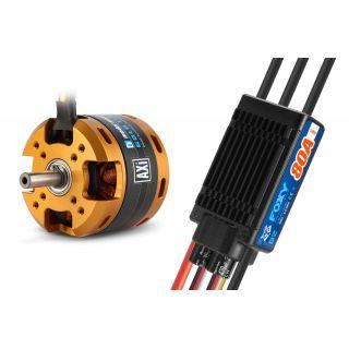 Combo set AXI 5320/18 V2 + FOXY G2 80A regulátor