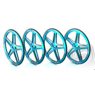 1/10 Set-up Wheel (Blue)