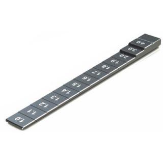 Měřidlo světlé výšky 1,0 - 4,0mm (černé)