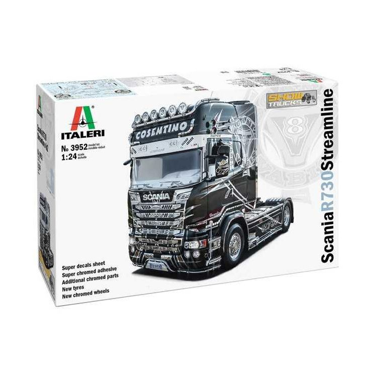 Model Kit truck 3952 - Scania R 730 Streamline 4x2 Show Trucks (1:24)