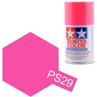 Tamiya Color PS-29 Flourescent Pink Polycarbonate Spray 100ml