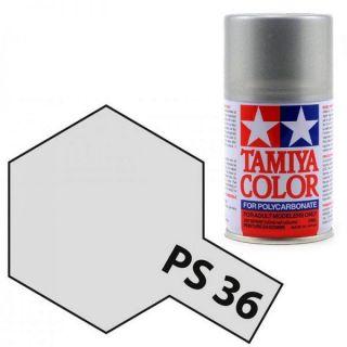 Tamiya Color PS-36 Translucent Silver Polycarbonate Spray 100ml