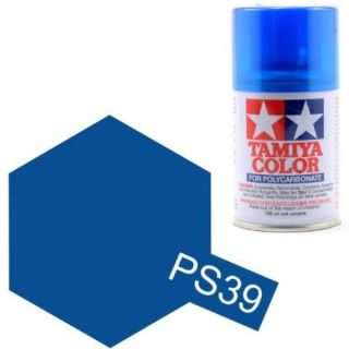 Tamiya Color PS-39 Translucent Lightblue Polycarbonate Spray 100ml