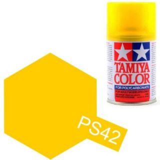 Tamiya Color PS-42 Translucent Yellow Polycarbonate Spray 100ml