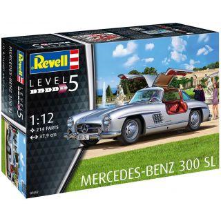 Plastic ModelKit auto 07657 - Mercedes-Benz 300 SL (1:12)