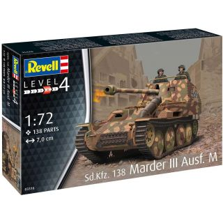 Plastic ModelKit military 03316 - Sd. Kfz. 138 Marder III Ausf. M (1:72)