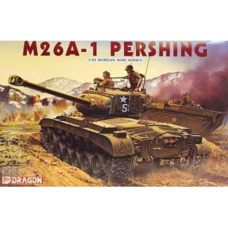 Model Kit tank 6801 - M26A-1 Pershing (1:35)