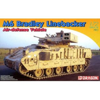 Model Kit military 7624 - M6 Bradley Linebacker Air-defense Vehicle (1:72)
