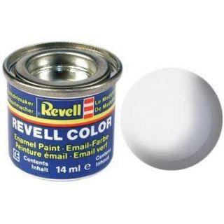 Farba Revell emailová - 32104: leská biela (white gloss)