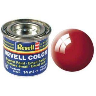 Farba Revell emailová - 32131: leská ohnivo červená (fiery red gloss)