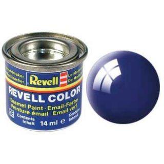 Barva Revell emailová - 32151: leská ultramarínová modrá (ultramarine-blue gloss)
