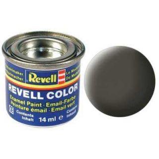 Farba Revell emailová - 32167: matná zelenkavo sivá (Greenish grey mat)