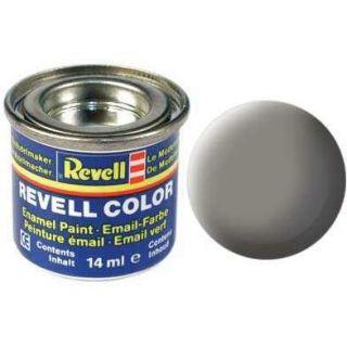 Farba Revell emailová - 32175: matná kamenne šedá (stone grey mat)