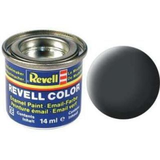 Farba Revell emailová - 32177: matná sivá prachová (dust grey mat)