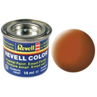 Farba Revell emailová - 32185: matná hnedá (brown mat)