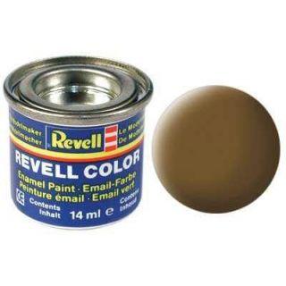 Farba Revell emailová - 32187: matná zemito hnedá (earth brown mat)