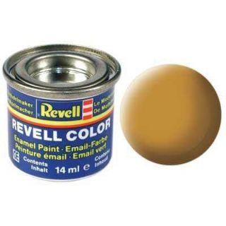 Farba Revell emailová - 32188: matná okrovo hnedá (ochre brown mat)