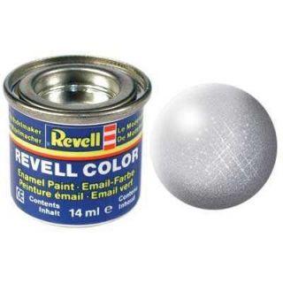 Farba Revell emailová - 32190: metalická strieborná (silver metallic)