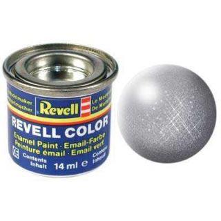 Farba Revell emailová - 32191: metalická oceľová (steel metallic)