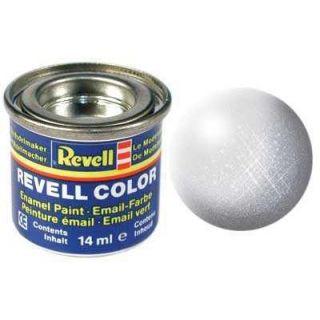 Farba Revell emailová - 32199: metalická hliníková (aluminium metallic)