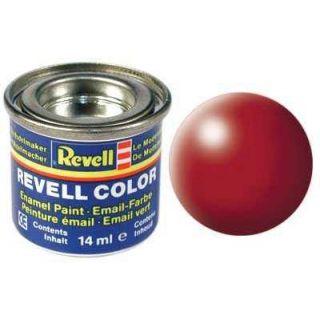 Farba Revell emailová - 32330: hodvábna ohnivo červená (fiery red silk)