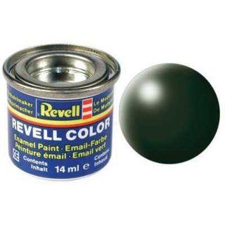 Farba Revell emailová - 32363: hodvábna tmavo zelená (dark green silk)