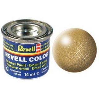 Farba Revell emailová - 32194: metalická zlatá (gold metallic)