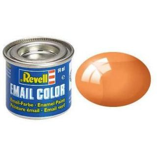Farba Revell emailová - 32730: transparentná oranžová (orange clear)