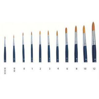 Brush Synthetic Round  51201 - kulatý syntetický štětec (velikost 000)