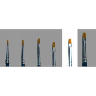 Brush Synthetic Flat - SINGLE PACK 52225 - plochý syntetický štětec (velikost 2)