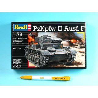 Plastic ModelKit tank 03229 - PzKpfw II Ausf.F  (1:76)