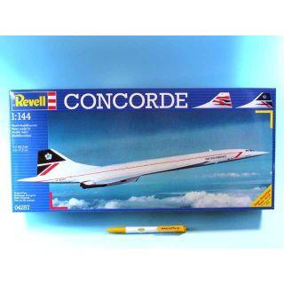 "Plastic ModelKit letadlo 04257 - Concorde ""British Airways""  (1:144)"