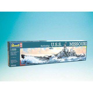 Plastic ModelKit loď 05092 - Battleship USS Missouri (1:535)