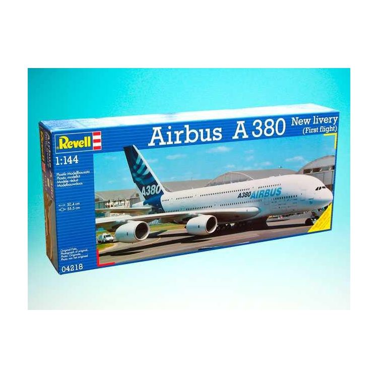 "Plastic ModelKit letadlo 04218 - Airbus A380 ""New Livery"" (1:144)"