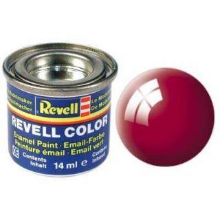 Farba Revell emailová - 32134: lesklá ferrari červená (Ferrari red gloss)