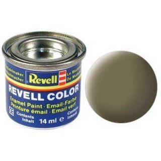 Farba Revell emailová - 32139: matná tmavo zelená (dark green mat)