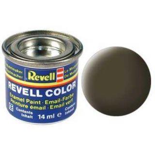 Farba Revell emailová - 32140: matná čiernozelená (black-green mat)