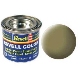 Farba Revell emailová - 32142: matná olivovo žltá (olive yellow mat)