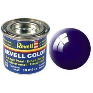 Farba Revell emailová - 32154: lesklá nočná modrá (night blue gloss)