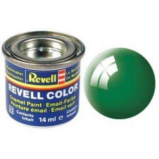 Farba Revell emailová - 32161: lesklá smaragdovo zelená (emerald green gloss)