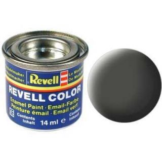 Farba Revell emailová - 32165: matná bronzovo zelená (bronze green mat)