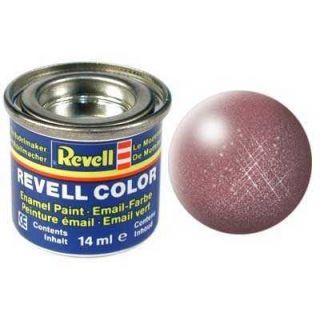Farba Revell emailová - 32193: metalická medená (copper metallic)
