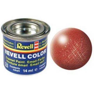 Farba Revell emailová - 32195: metalická bronzová (bronze metallic)
