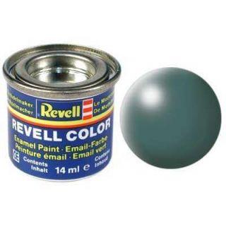 Farba Revell emailová - 32364: hodvábna listovo zelená (Leaf green silk)