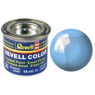 Farba Revell emailová - 32752: transparentná modrá (blue clear)