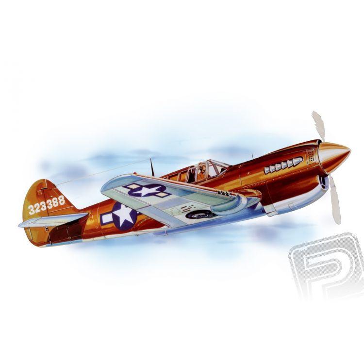 P - 40 Warhawk (711mm) laser.vyřezávaný